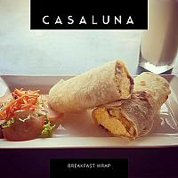 Vegetable Breakfast Wrap