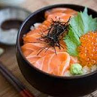 Salmon Ikura Bowl