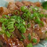 Grilled pork with miso sauce