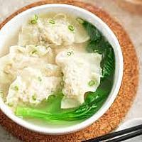 Dumpling with soup