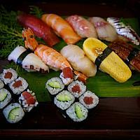 Sushi set Ume
