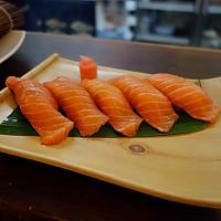 Sushi set salmon