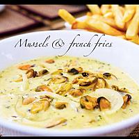 Roquefort Mussles