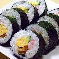 Sushi mix roll