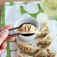 Homemade Shrimp Pork Dumplings
