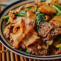 Pad See Ew with pork