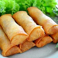 Golden Fried Spring Rolls