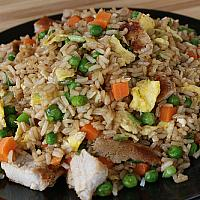 frid rice chicken