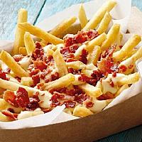 French fries cheddar cheese & bacon