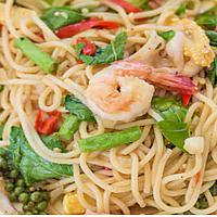 Spaghetti Kiemao Talay - hot Острый соус - 麻辣醬