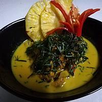 Gaeng hoy bai cha plu - Тайские карри мидиями - 咖喱贻贝