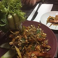 Spicy Striploin Salad - Салат с говядиной гриль - 烤牛肉沙拉