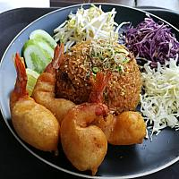 Spices Fried Rice - бжаренный рис spices - 酸辣炒饭