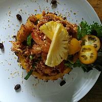 Hawaiian Fried Rice - Запеченный рис с ананасами - 夏威夷炒饭