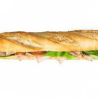 Sandwich baguette tuna
