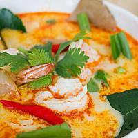 Tom Yum Goong - острый суп с креветками - 冬荫虾汤