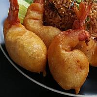 Prawn Thai Tempura - тайский стиль креветки темпура - 天妇罗炸虾