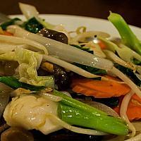 Fried Mixed Vegetables - соте из овощей - 炒青菜
