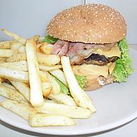 House pork burger