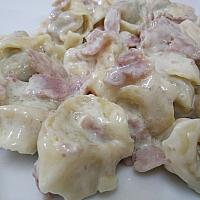 Meat filed tortellini