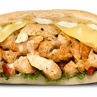 Chicken chika white sandwich