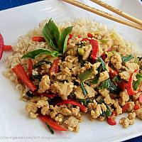 Pad Kra Pao Chicken