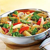 Stir Fried Vegetable with oyster sauce