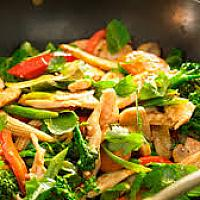 Stir Fried Vegetable with Chicken