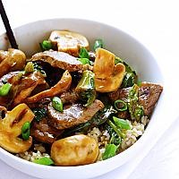 Shiitake and Vegetable with Chicken