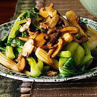 Shiitake and Vegetable with tofu