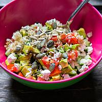 Cucumber and Quinoa Salad