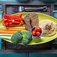 Yogarden Hummus Platter