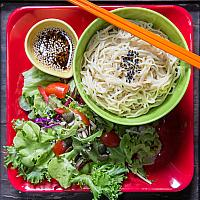 Japanese Vegan Noodle Salad