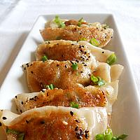 Homemade Vegetable Dumplings