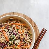 Yakisoba noodles with tofu