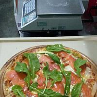 Salmon & Brie with Rucola (Rocket)
