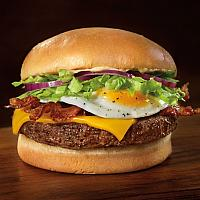 Bacon Egg & Cheese Burger
