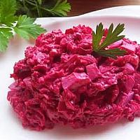 Beetroot salad(свекольный салат)