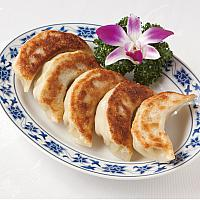 Grilled Pork Gyoza (Dumplings)