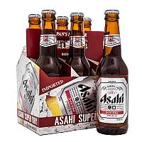 Asahi Beer Super Dry x 6 bottle
