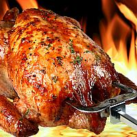 Whole Roasted Chicken + 2 sides + 2 sauces