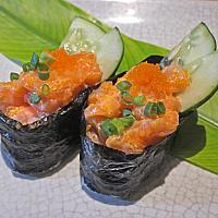 Spicy Salmon Ship Roll