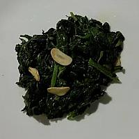 Saute spinach & garlic