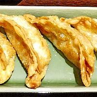 Deep Fried Pork Gyoza Dumplings