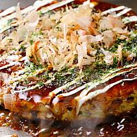 Okonomiyaki Japanese savory pancake