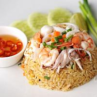 fried rice sea food