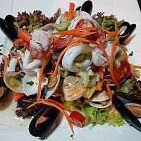 insalata di mare sea food salad