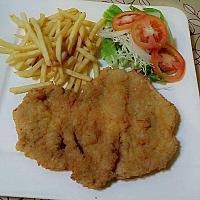 secondo chicken or pork milanese