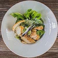 grill chicken Caesar salad