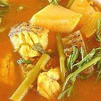 Hot Sour Curry Fish & Vegetable Ragout